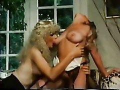 Two trannys fuck girl