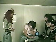 Vintage Tranny Karin 3some