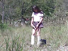 Outdoorloving Paipan Tuckpussy Fem Boi Pai-chan in School Gurl Outfit Series REMASTERED