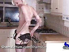 Blonde British Tgirl Lexi Lewis
