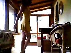 sweety femboy yellow dress