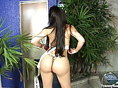 Sexy Teen Bruna Rodrigues Plays With Her Cock
