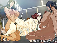 3D Futanari Elfs and Hermaphrodite Teens!  - video # 02