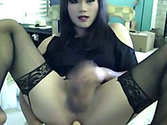 Beautiful Asian Crossdresser