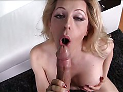 Huge tits blonde shemale anal screwed