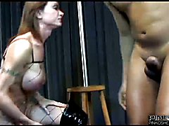 PINKO SHEMALES Shemale with Big Tits  - clip # 03
