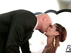 Gorgeous Domino & I look great together in a formal setting. After attending a fabulous part...