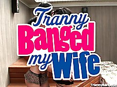 Horny Married Couple Get Kinky With a Hot Transsexual!