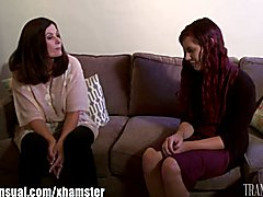 MILF Magdalene St. Michaels is seduced by her teen transgender student, Chelsea Poe, Magdale...