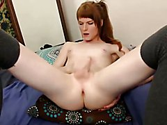 Melody loses control of her body sperming it