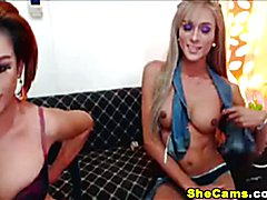 This beautiful and kinky duo is at it again to give their viewers one hell of an experience....