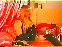 TS Barbi sucks off TS Denise then blows her load (VHS)