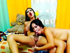 Super horny and wild duo is up for some kinky time. See them tease in front of the camera as...