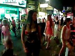 Sexy Ladyboys walking street