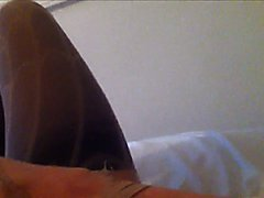 Fell in bed while dressed and this is how i woke up the next morning. I was so horny so i de...