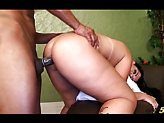 Posh booty tranny fisted and fucked by BBC