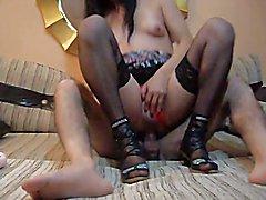 ankara travesti prensesela 0539 718 35 39  - clip # 046
