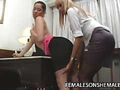 Sheina and Ire - Bitchy Latina Enjoys Tranny Explosive Sex