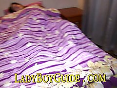 Wake up Noofour when she is resting deep under the covers. You can either watch her masturba...
