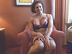 amazon TS Morena Black is very pretty and has an amazing figure.  After our HOT bareback sex...