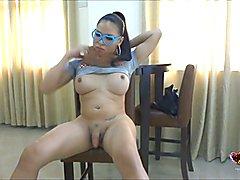 Vitress Tamayo Asian tranny babe!