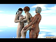 Milky shemales threesome Release 3D animation tube presents by www.animedgirl.com