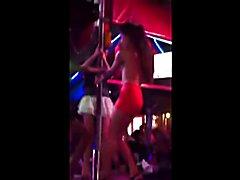 Sexy Thai Ladyboys Flashing Tits in Public