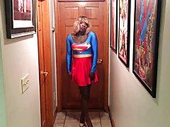 Superhero tranny supergirl part2