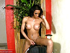 She has big tits, a toned physique and a meaty girl dick she loves to stroke on camera, and ...