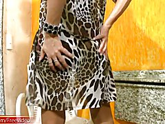 Jo Garcia is one gorgeous dark hair shemale cutie with a womanly figure and a gigantic shaft...