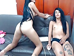 Talented shemales - Colombias today's youth fuck each other