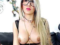 Glasses, tattoo and big dick  - clip # 02
