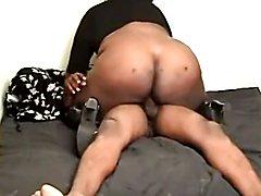 Ebony Tranny Fucked Hard  - clip # 02
