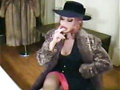 bimbo sissy make up smoking