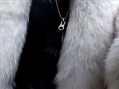 real whore go to the hotel for John in furs coat,thigh high boots, leather skirt ,  corset, ...