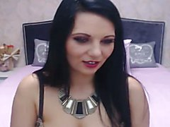 Brunette shemale masturbating her big hard cock right in front of the cam. Hot shemale shows...
