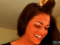 PinkO Shemales Laura Ferraz loves the cock  - clip # 02