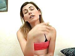 Teen trap bareback fucked & cums