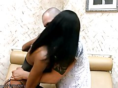 Leaked FULL video of interracial tranny hardcore ass fucking  - clip # 02