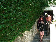 Two spies try to get into Camilla's castle attempting to steal from shemales the secret of p...