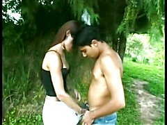 shemale fuck outside  - clip # 03