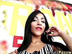 Today we bring back the gorgeous Ms.Davalos down for some sweet Gloryhole action! This beaut...