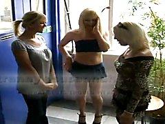 1 woman 2 tranny  - clip # 02