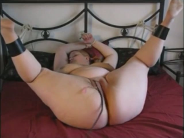 Bbw tied up naked
