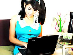 Vitress Tamayo in Blue on her webcam! is it your turn to see her live? Join her members area...