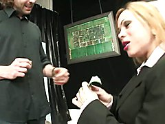 Tranny Art Tranny in office suite fucking the boss in the ass