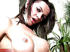 Kelly Ohana had on her thigh high fishnets and she teased the boys in the local market by st...