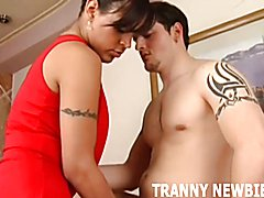 I will show you what sex with a tranny is all about  - clip # 03