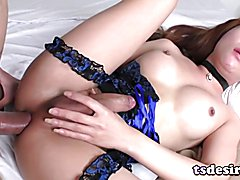 Asian Shemale Plam Gets Dicked Deep And Hard