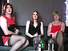Myself, my wife and a Tgirl friend Emma chat about our sex lives